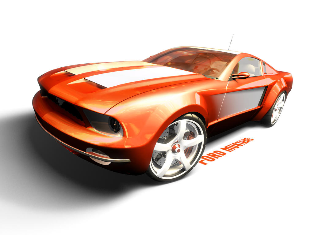 Ford Mustang by FriX1981