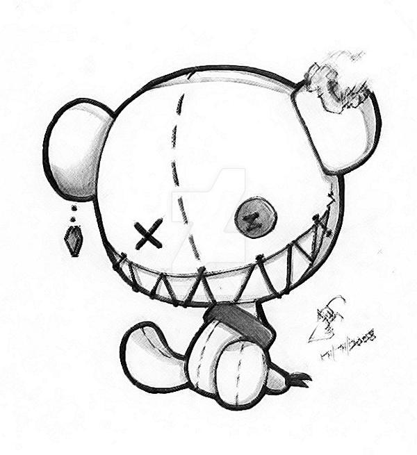 evil cartoon drawings - 600×655