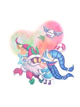Kiss the Evil Santa