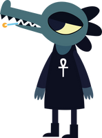 Bea - Night in the woods by LeoZane