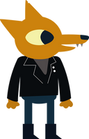 Gregg - Night in the woods by LeoZane