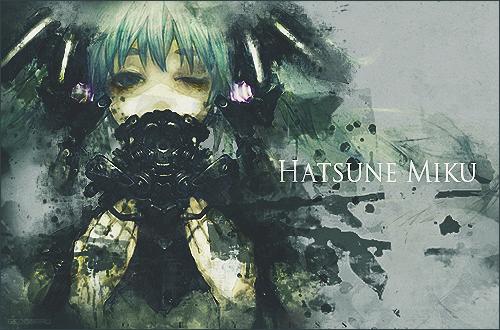Hatsune Miku by Gedomaru