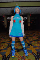 Jet Set Radio Future Blue Girl by AnimePhotos