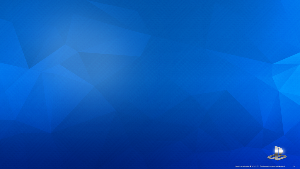 PlayStation Engraved Blue 4K Wallpaper by Akio14 on DeviantArt