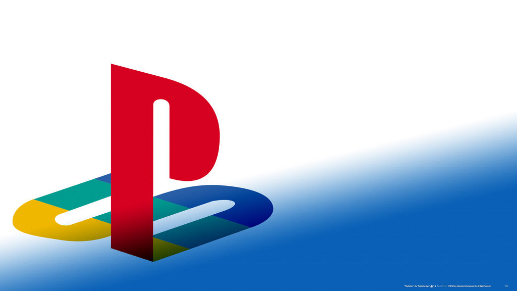 Playstation Engraved White Blue Fade 4k Wallpaper By Akio14 On Deviantart