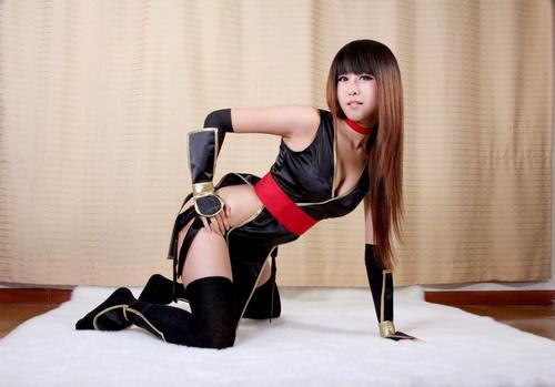 Black Kasumi Cosplay 3 by manaboy100
