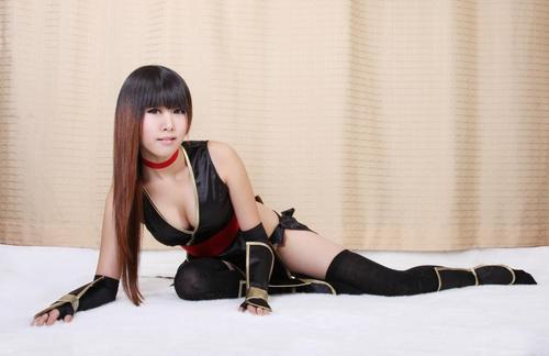 Black Kasumi Cosplay 4 by manaboy100