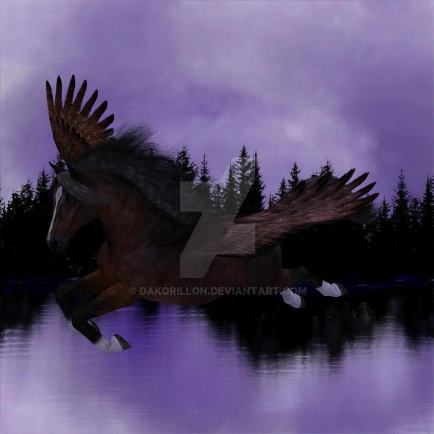 Purple Flight-IMArts by Dakorillon