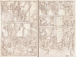 OLD DOUBLE PENCIL 3-4 pages by toniinfante
