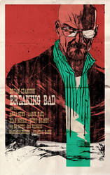 Breaking Bad western style poster by toniinfante