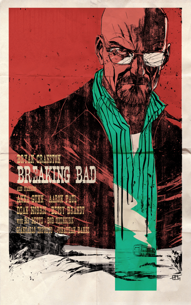 breaking bad western style poster by toniinfante on deviantart. Black Bedroom Furniture Sets. Home Design Ideas