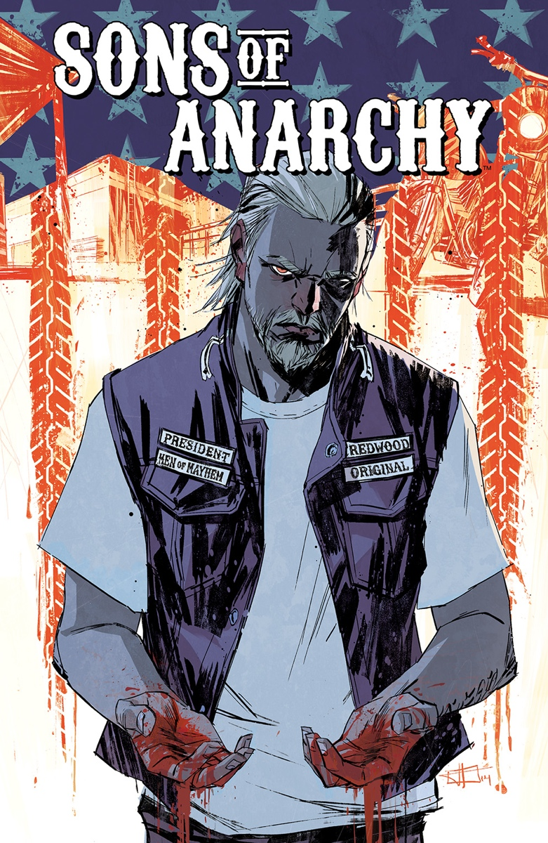 Sons of Anarchy #15 COVER by toniinfante