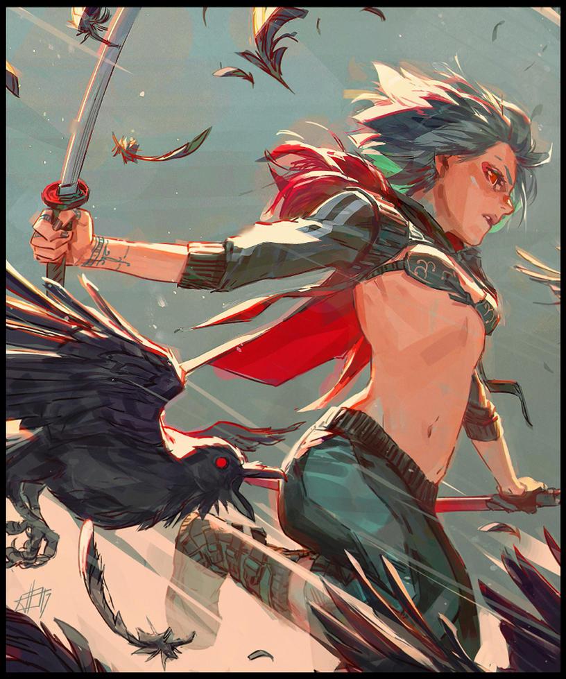 Raven by toniinfante