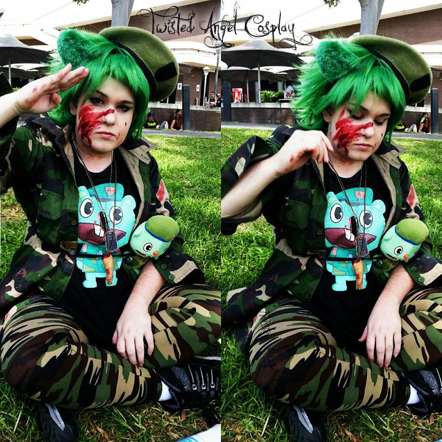Flippy / Fliqpy Cosplay! Zombie Walk 2016 by TwistedAngelCosplay