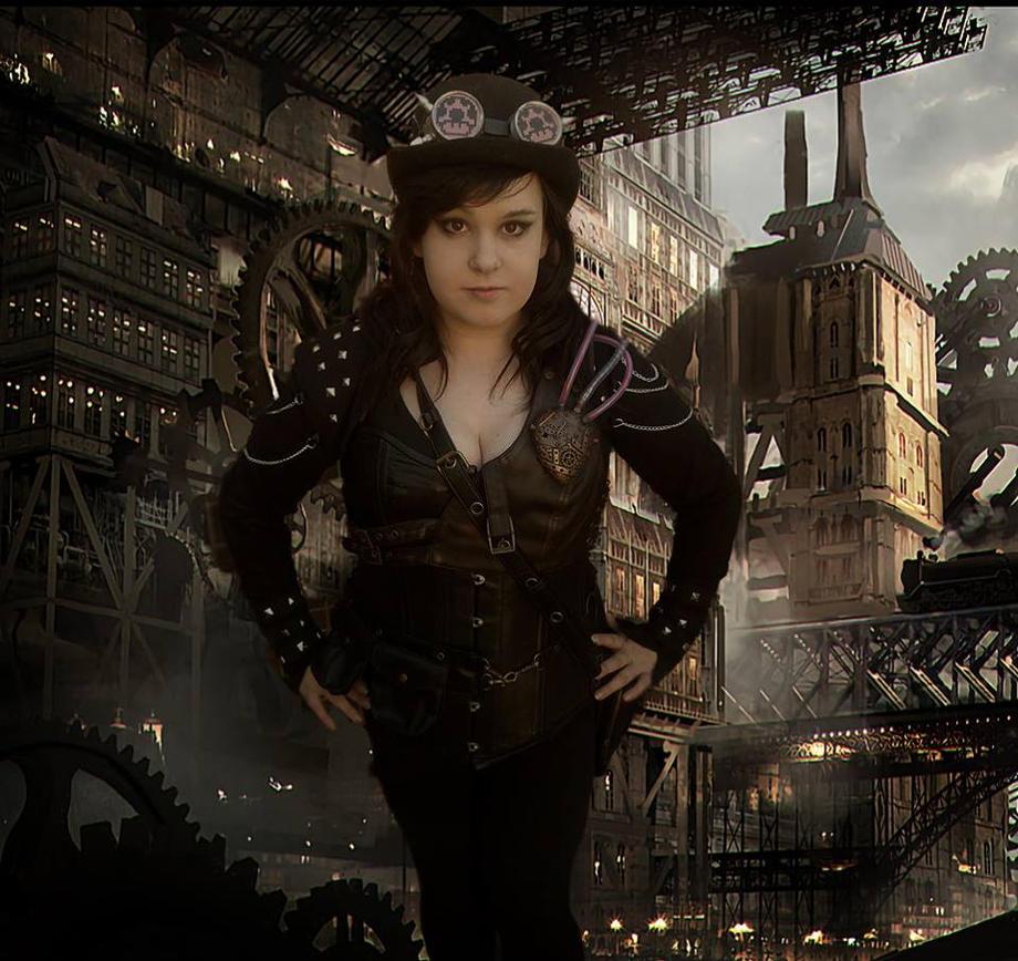 Steampunk OC SteamKitty by TwistedAngelCosplay