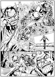 avengers kree skrull war inks by fabiojansen