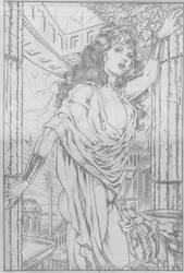 wonder woman by fabiojansen
