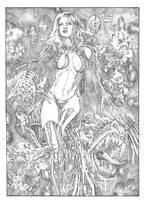 Black Queen I by fabiojansen