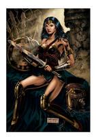 WONDER WOMAN FULLCOLORS by fabiojansen