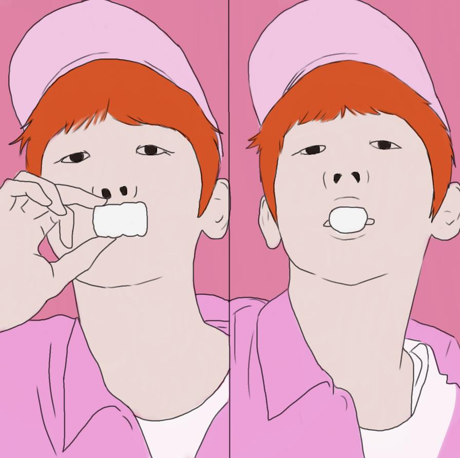 Kpop Dude No Shading by katliente
