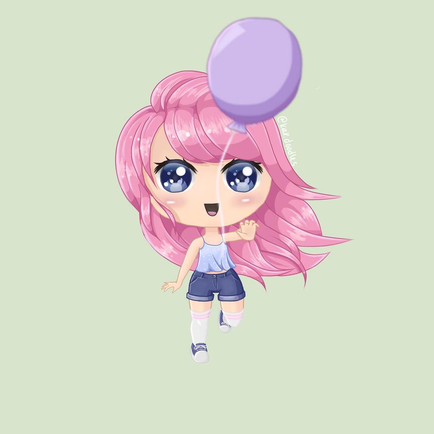 Balloon Chibi by katliente
