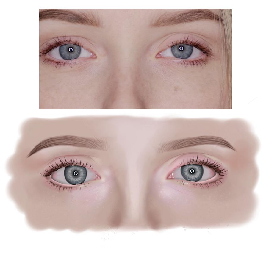 Blue Eyes by katliente