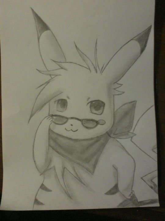 Pikachu Pencil Drawing by Passionis-Angelus on DeviantArt