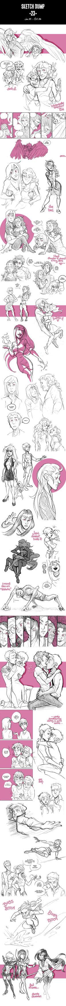 Sketch Dump 23 by arswiss