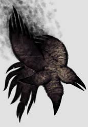 cerberus crow by cockrocket