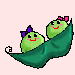 Peas in a Pod by Leemeeri