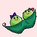 Peas in a Pod by Leemeeri