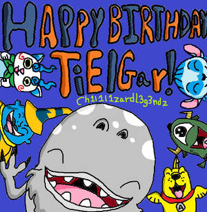 Happy (Early) Birthday TiElGar! (2019)