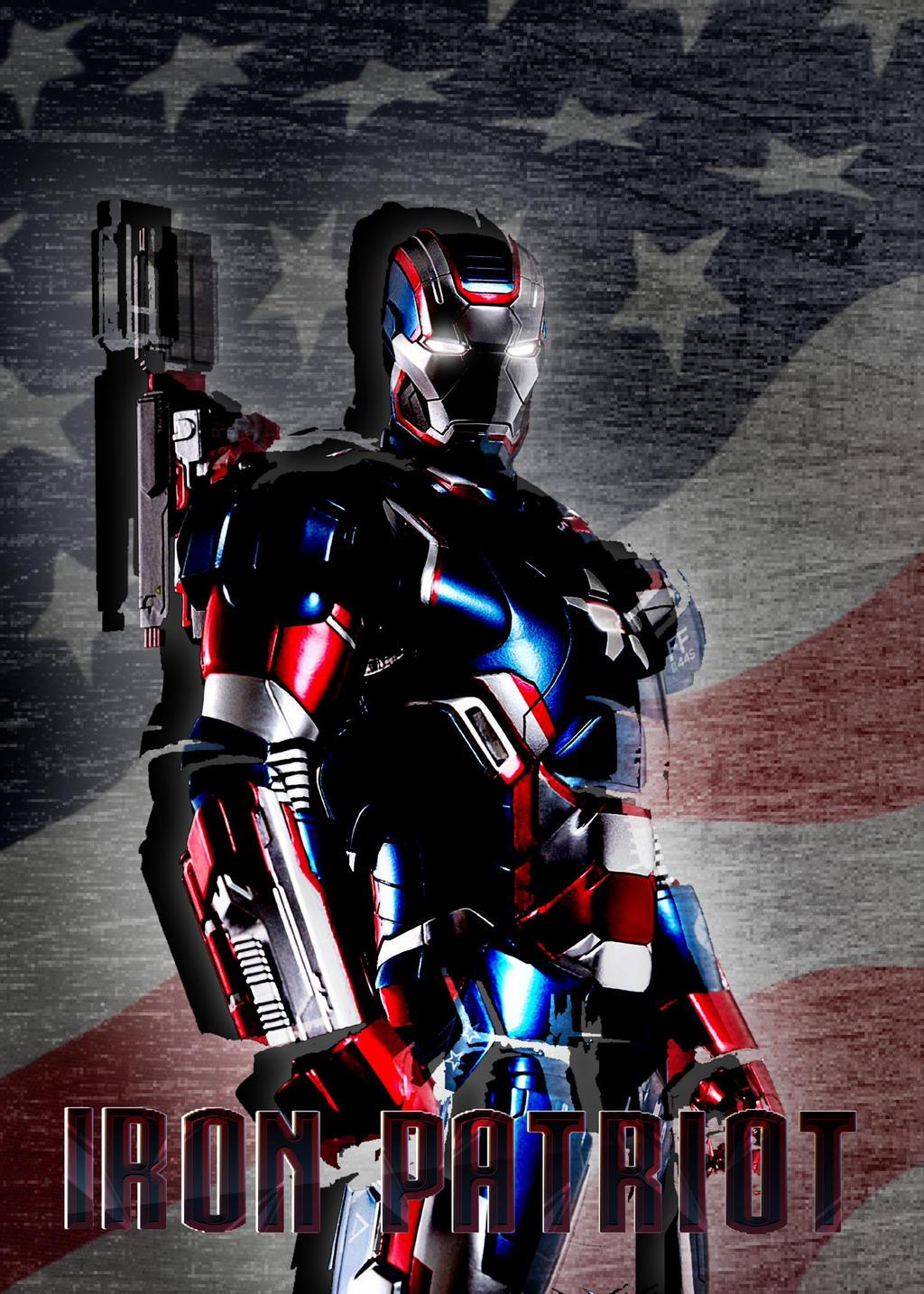 Iron Patriot by pokefan514 on DeviantArt