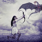 Sky Huntress by NataliaAlejandra
