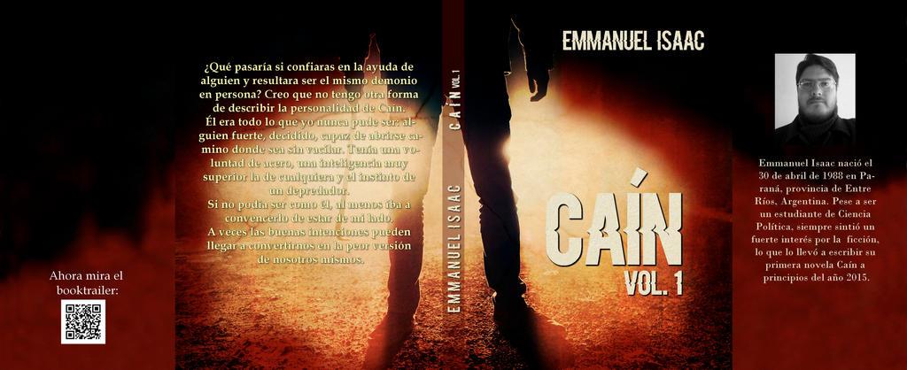 Cain bookcover by NataliaAlejandra