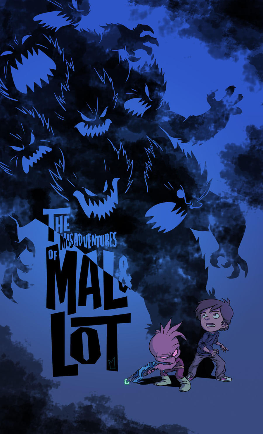 mal and lot print design 2 by gloooscap