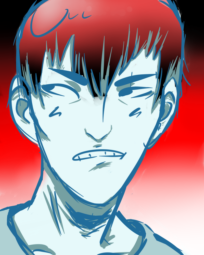 Weird Kageyama??? by Camo54