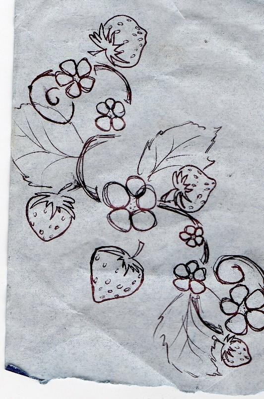 strawberry tattoo by doodle wotsit on deviantart. Black Bedroom Furniture Sets. Home Design Ideas