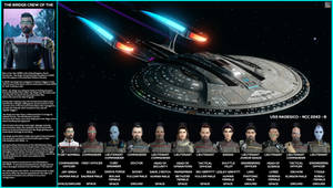 Bridge Crew Of The USS Nadesico - NCC-2243-B [OLD]