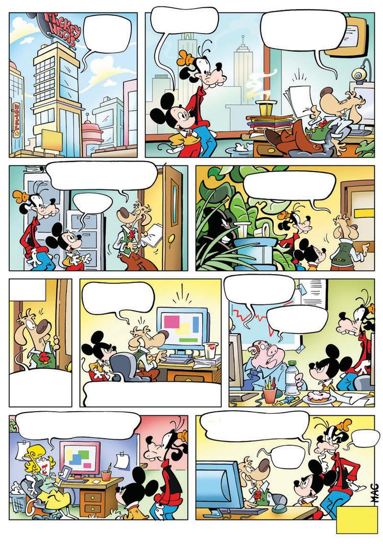 Mickey News by MacOneill