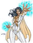 THUNDER WOMAN (Digital commission) !!!