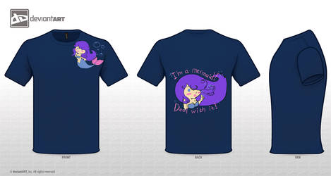 Mythical Creatures Contest Mermaid in Navy