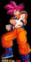 Goku Super Saiyan God DB SUPER