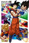DRAGON BALL SUPER Torneo de poder POSTER