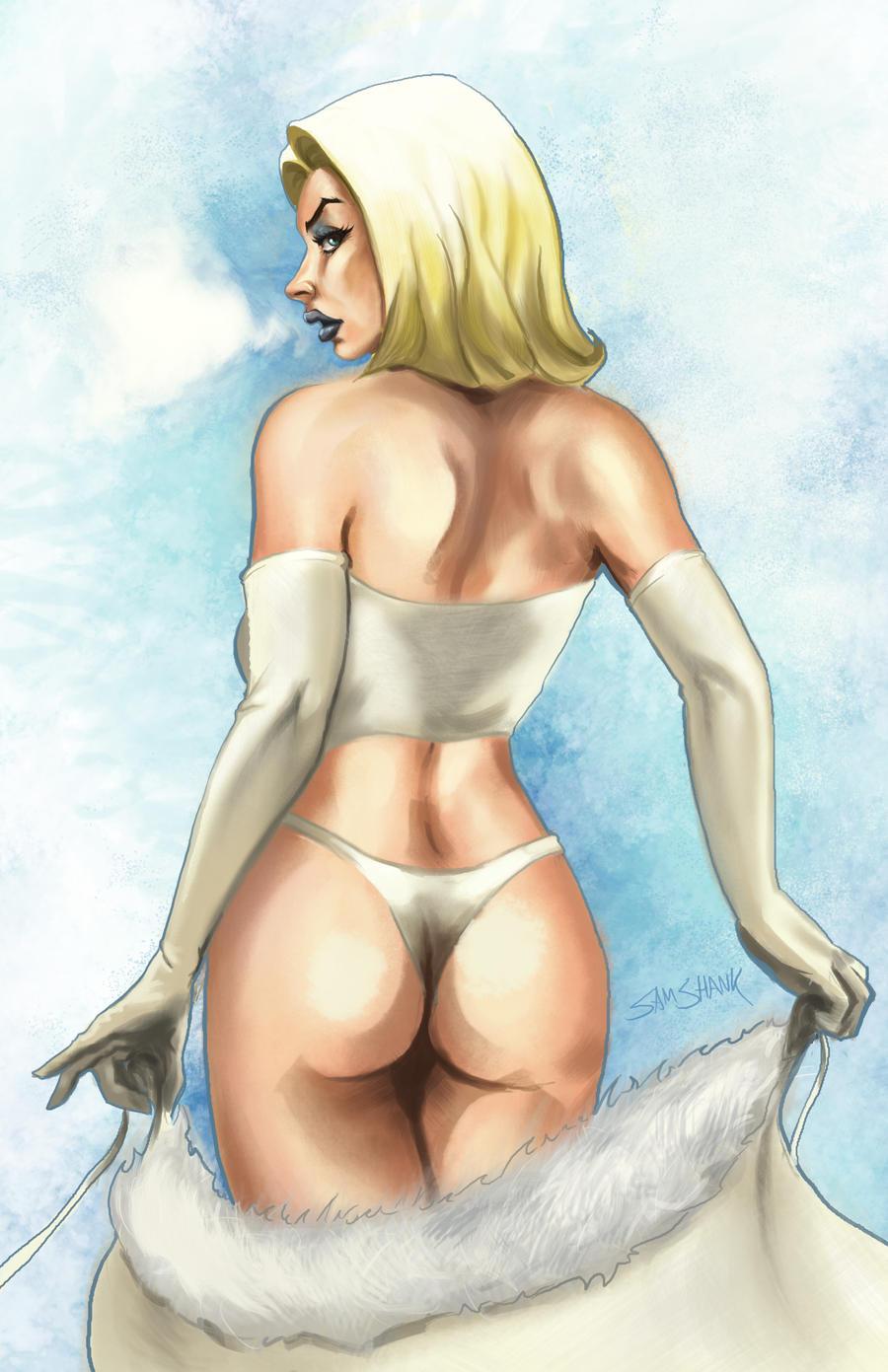 Emma Frost by samshank0453