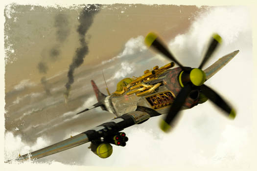 P51 Steampunk