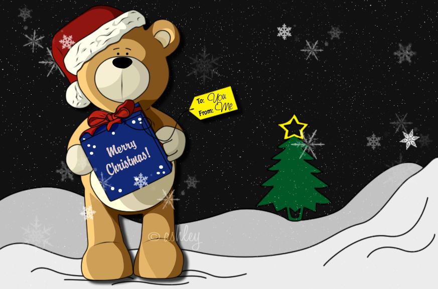 teddy's present by ash-becca