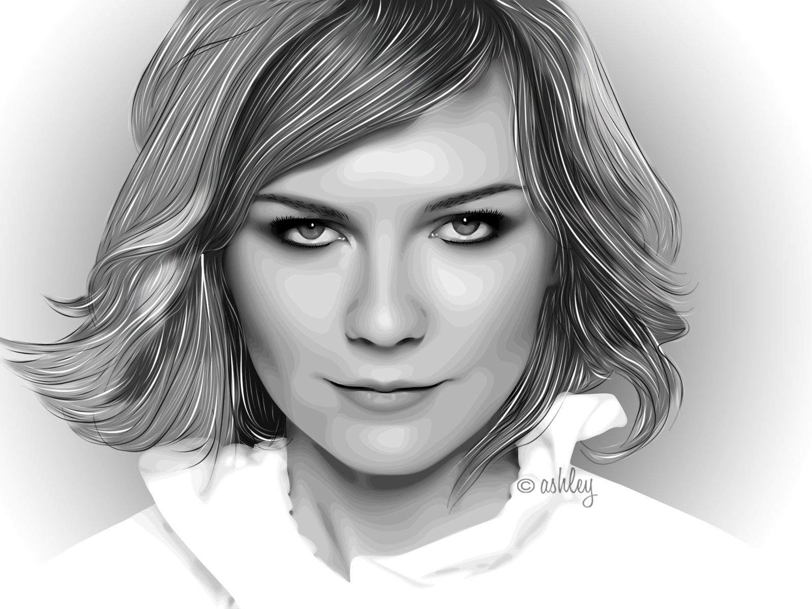 kirsten dunst by ash-becca
