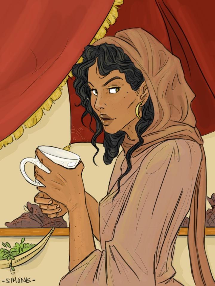 Tea Reading by simonbon on DeviantArt