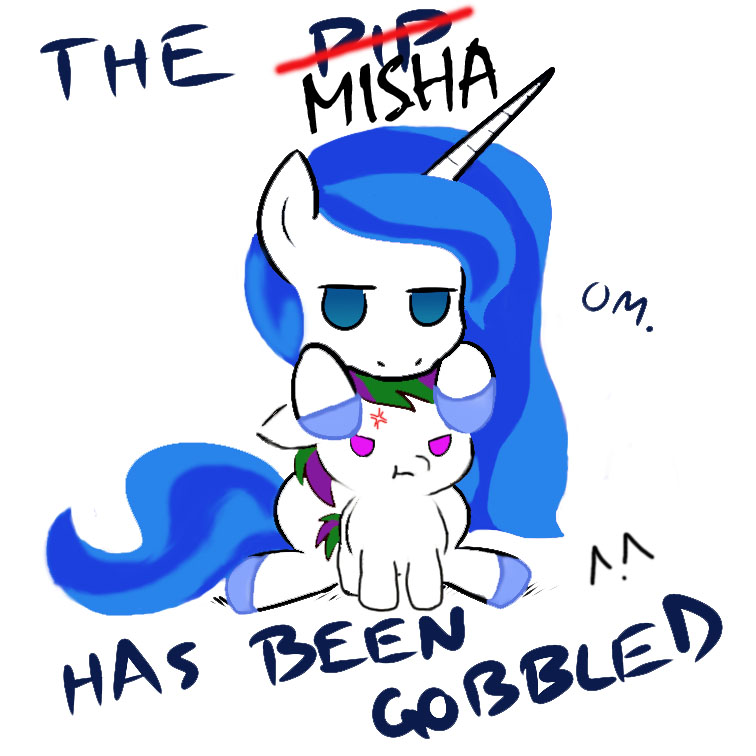 The Angry Misha Has Been Gobbled by arnyia